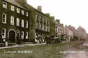 Market Street, Lurgan in the early 20th century