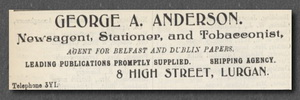 George Anderson ad