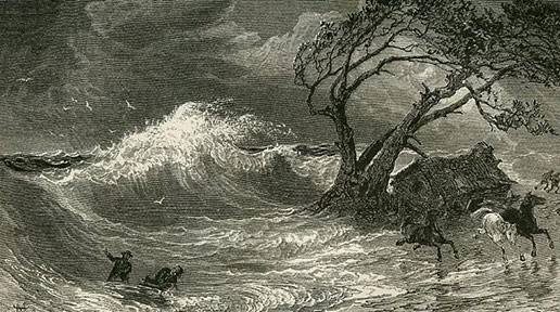 the big wind of 1839