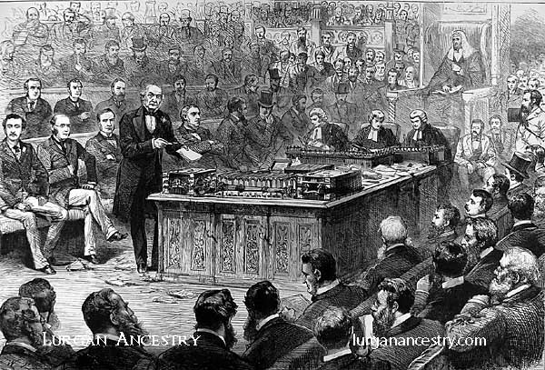 Gladstone in the House of Commons