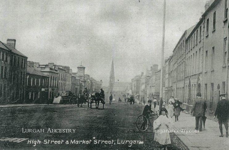 High st and Market st Lurgan