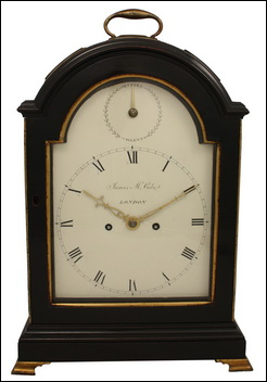 Clock made by John McCabe