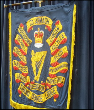 Banner of the County Armagh Grand Orange Lodge