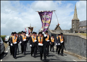An Orange Parade in Drumcree