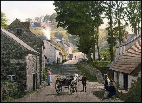 An Armagh village in the 1830's